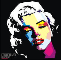 Marilyn Monroe WPAP by ndop