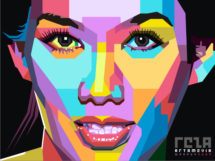 Reza Artamevia Pop Art By Ndop On Deviantart