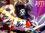 JIM ROOT POP ART WPAP