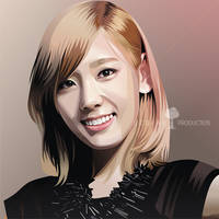 Taeyeon Real Vector by ndop