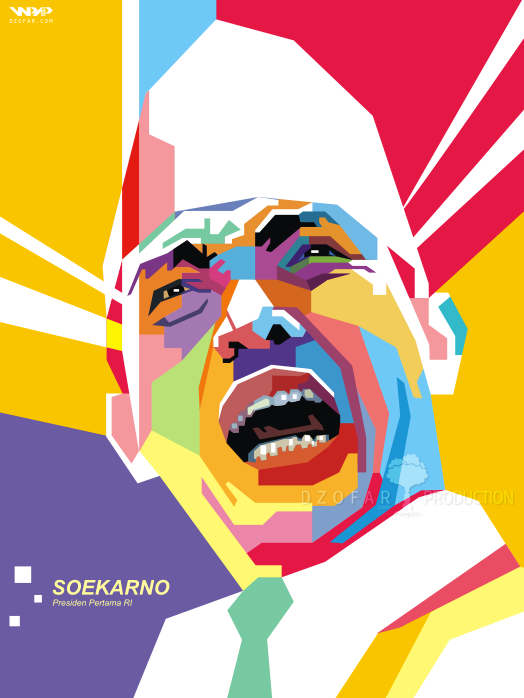 Soekarno Wpap By Ndop On Deviantart