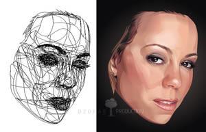 Mariah Carey Real Vector by ndop