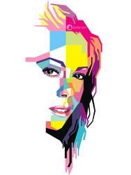 Mariah Carey Pop Art by ndop