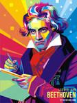 Pop Art Beethoven by ndop