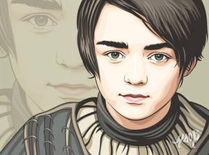 Arya Stark Vector