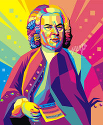 Johann Christian Bach Pop Art