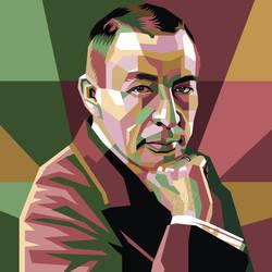 Sergei Rachmaninoff Pop Art