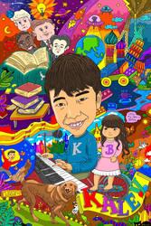 Kalev Birthday Doodle