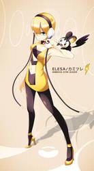 Pokemon - Elesa . Kamitsure