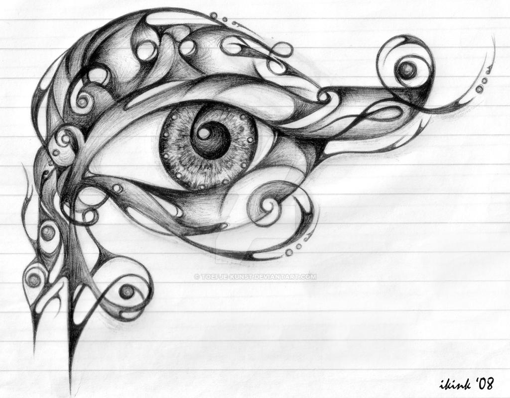 Eye Of Horus By Toefjekunst