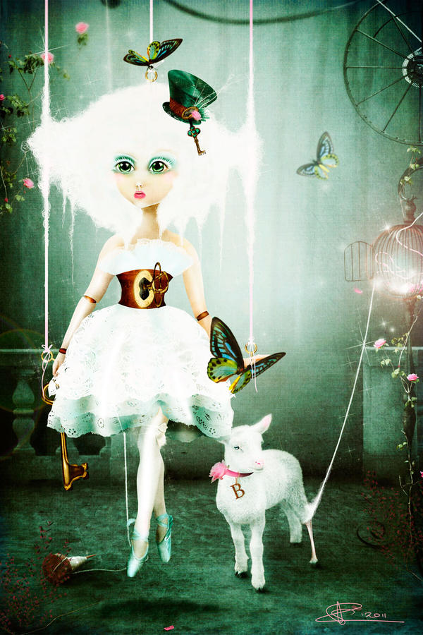 Little Bo Peep by Toefje-Kunst