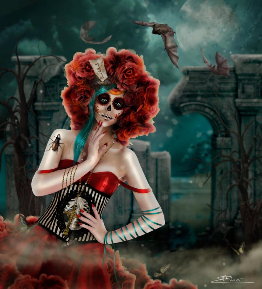 Dia de los Muertos by Toefje-Kunst