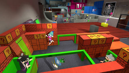 Matto and Friends are doing Freerunning by MattotheInkling