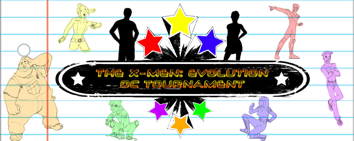X-Men: Evolution OC Tournament by rainrach
