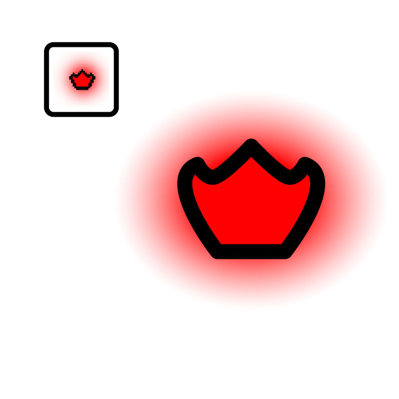 vectorized isaac 9 2 dark prince s crown by giftedscholar on