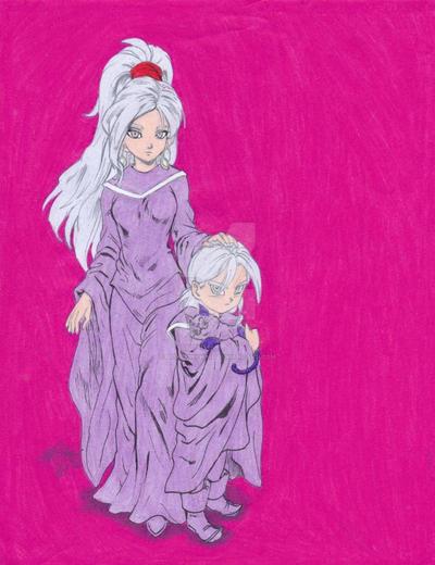 Schala and Janus by ilovepinkhair