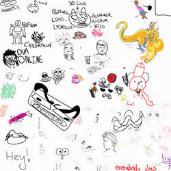 Art Lounge Drawpile #4 by Masterfireheart
