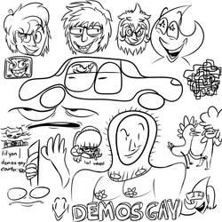 Doodle Canvas 4/8/18
