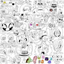 Doodle Canvas 7/7/18