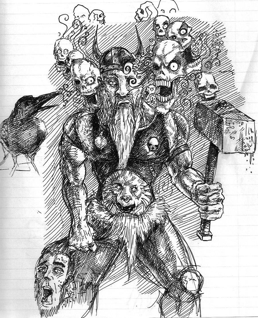Viking Skulls By Globeym7 On Deviantart