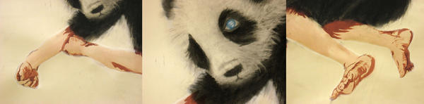 Panda Girl Detail by BlueRaine