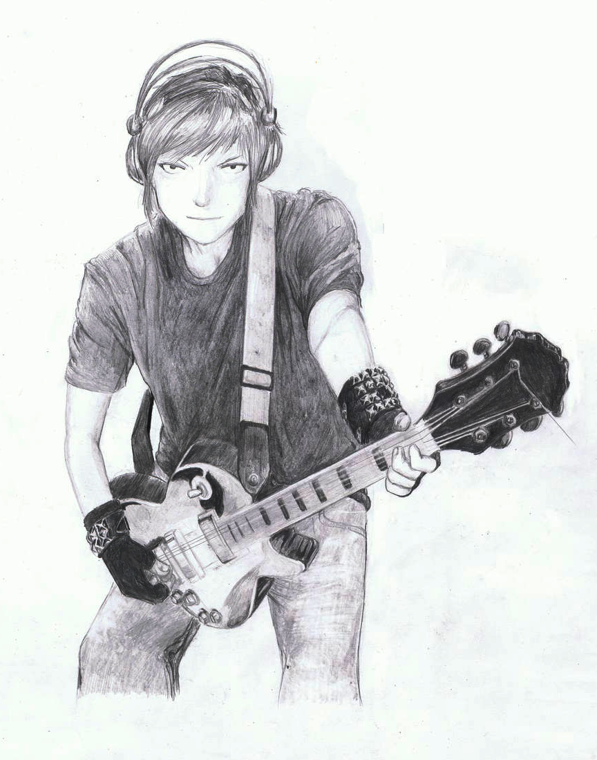 Guitar Boy by Himek on DeviantArt