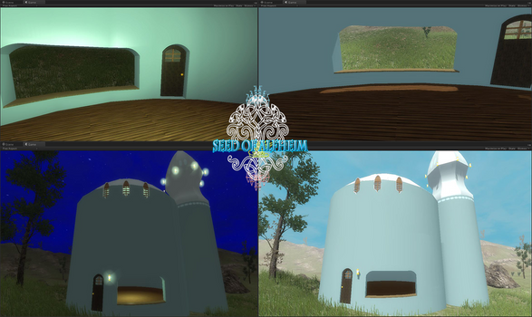 lights Day and night test in game