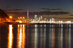 Auckland City at night 2