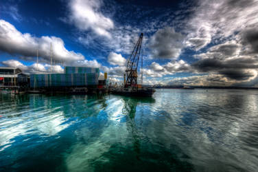 Auckland Harbour HDR 2 by MisterDedication