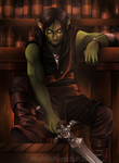 Dungeons and Dragons: Elian the half-orc