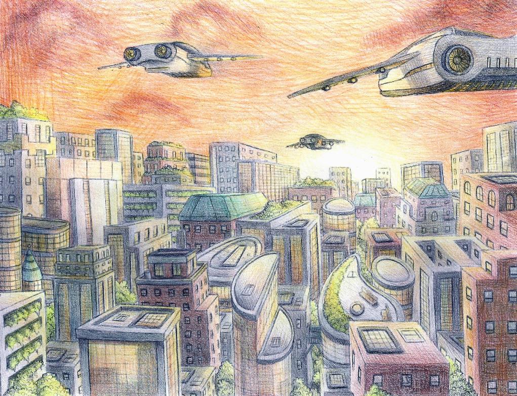 Cityscape by joy-ling