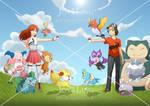 Jenny and Mike's Pokemon Battle!