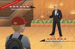 President Trump VS Trainer Barron by jcling