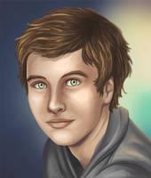 Portrait of a Cute Guy by jcling