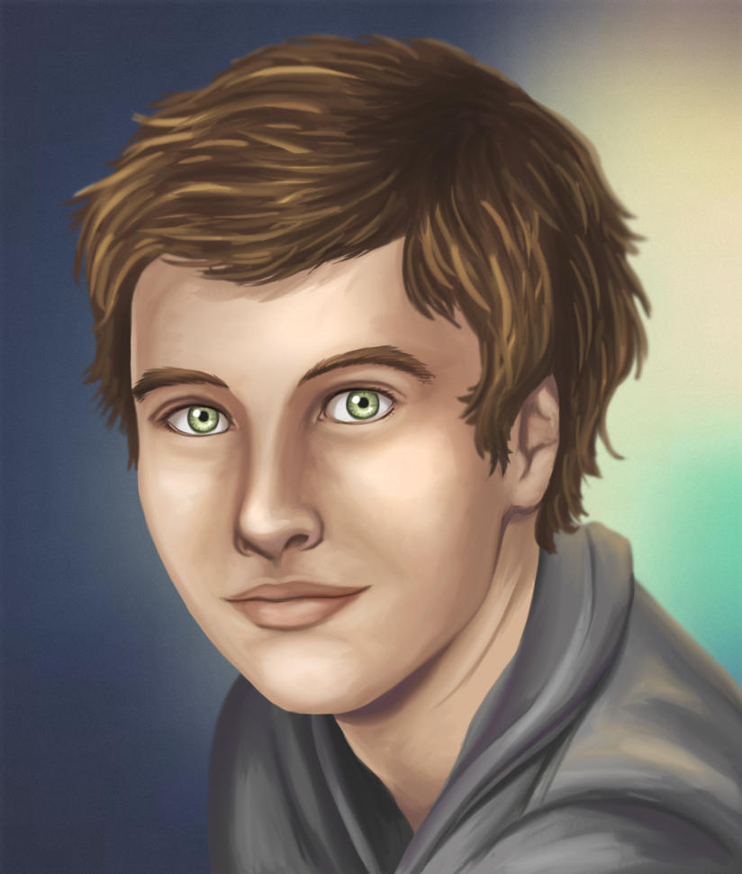 Portrait of a Cute Guy by joy-ling