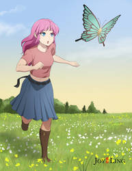 Butterfly Chaser by jcling