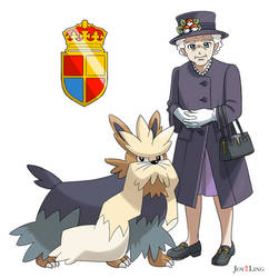 Battle Queen Elizabeth II! by jcling