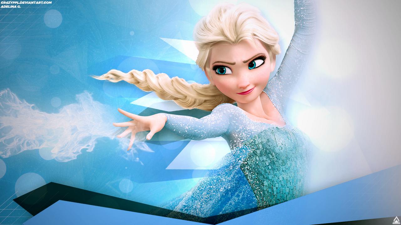 Elsa Wallpaper Disneys Frozen By ImLaddi