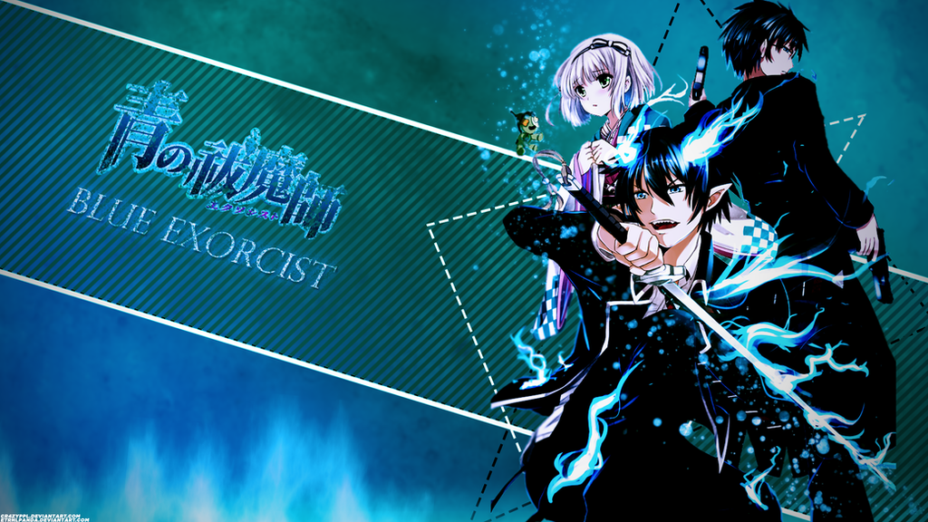 epic blue exorcist wallpaper - photo #37