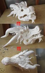 Eastern Dragon Mask DIY Kit
