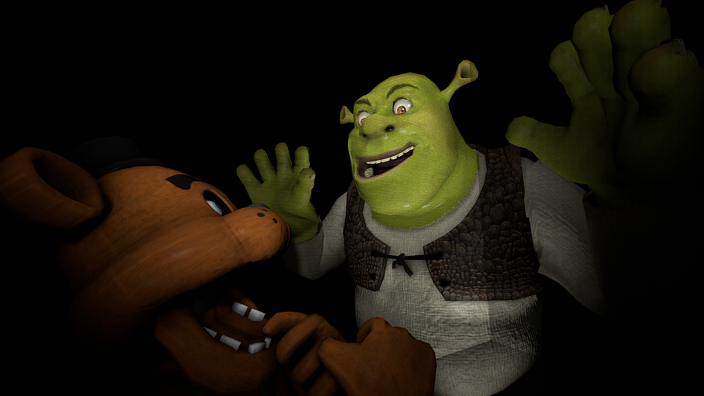 Five nights at shrek s by mrgrimlock on deviantart