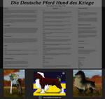 The Deutsche Pferd Hund des Krieges by SmexyHajiSan