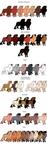 Color Chart Sneak Peek by SmexyHajiSan