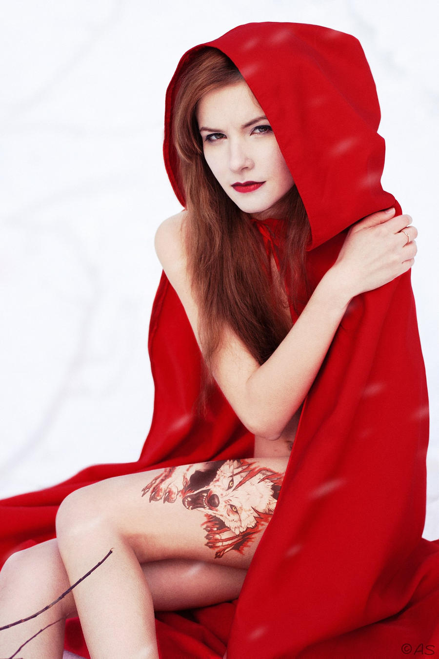 Something Sexy little red riding hood nude