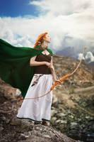 Red Archer II by Ann-Rentgen