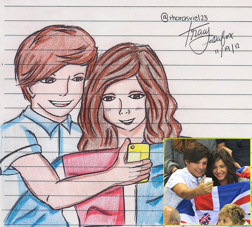 Louis Tomlinson and Eleanor Calder #02 by TracyPalafox on DeviantArt