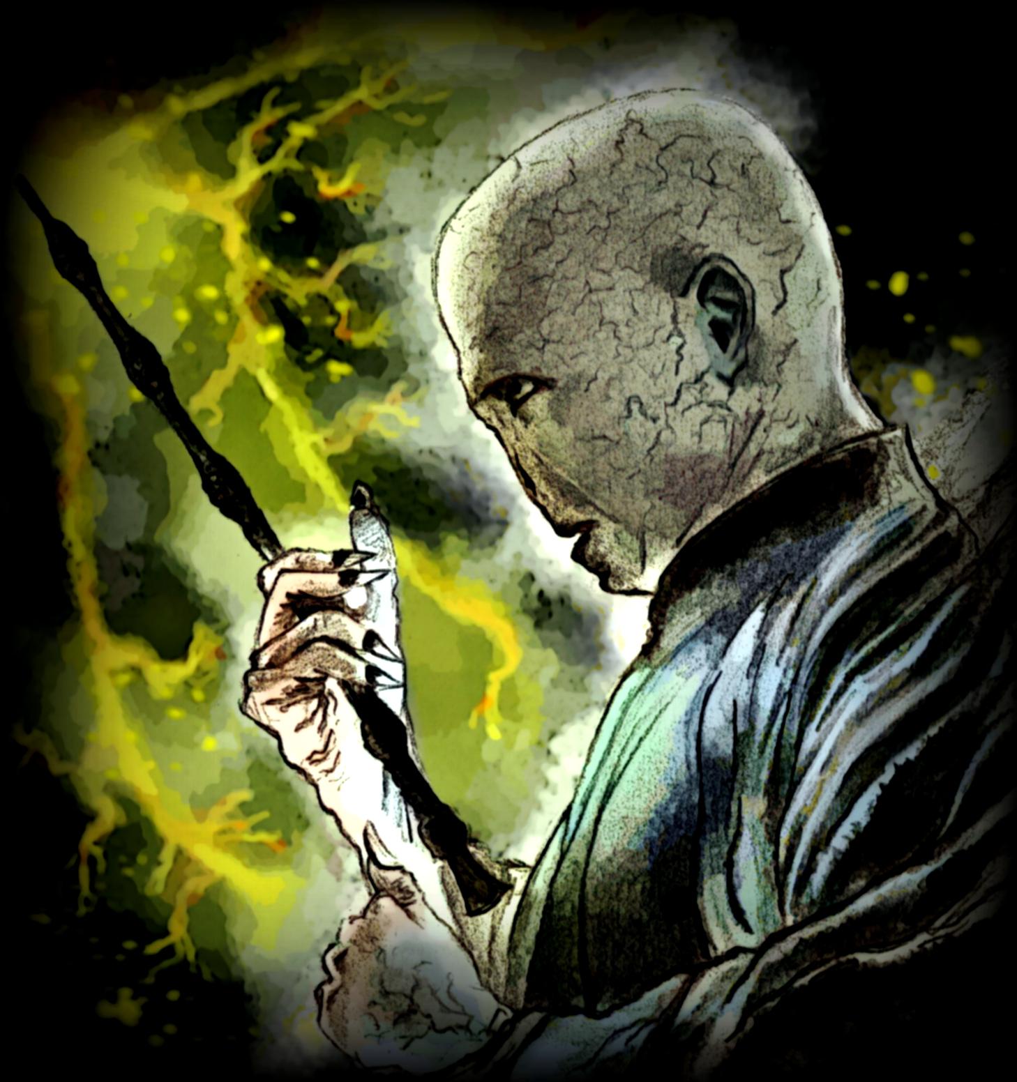 Voldemort gets the elder wand by epicloop on deviantart for Elder harry potter