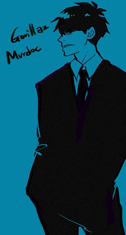 Suit Murdoc by MaLee-Liu