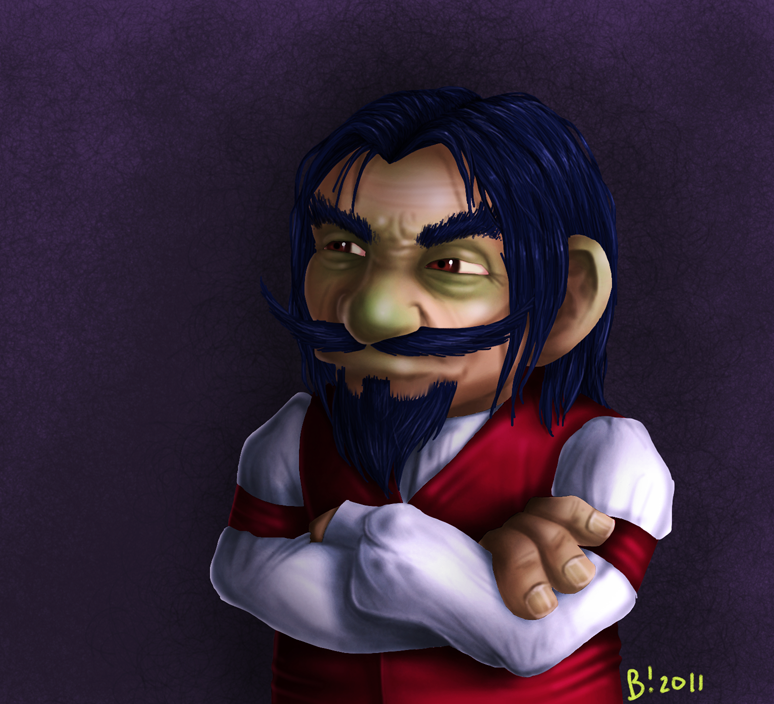 Splate Crabgrass - Gnome by gadwah