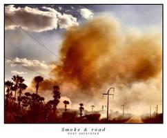 Smoke and road - gridlockd by gridlockd